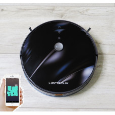 Robot vacuum cleaner LIECTROUX C30B  3D lens flare.  WIFI. German brand. European version. 2020 model. 1 year warranty from the manufacturer